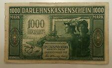 GERMANY 1000 MARK 1918   #R - 134  - Occupation Of Lithuania WWI - KOWNO 1918