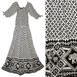 Indian Dress Rayon Retro Blusa Vestir Ethnic Boho Ehs Vintage Retro Hippie Women