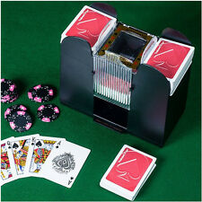 Casino 6-Deck Automatic Card Shuffler Game Play Blackjack Bridge Poker Gambling