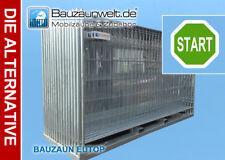 Bauzaun / Mobilzaun EUTOP + Fuß + Verbinder 18er Set / in Leipzig
