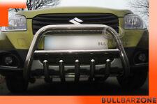 SUZUKI SX4 S-CROSS 2013-16 PARE-BUFFLE BAS AVEC GRILLE DE PROTECTION CARTER INOX