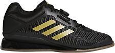 adidas Leistung 16 ll Weightlifting Shoes Black Bodybuilding Boots Gym Training