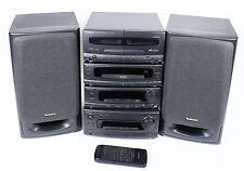 TECHNICS SC-CH650 Komponenten Anlage CD-Player Tuner Tapedeck EQ Stereoanlage