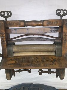 Anchor Brand #770 Clothes Wringer, pat'd May 5, 1896.  Lovell Mfg Co. Erie PA