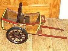 """Carro De Madera Decorativa Para Muñecas/peluches o mostrar longitud de 18"""" X 10"""" X 8"""""""