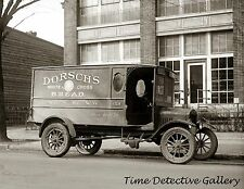 Dorsch's Ford Bread Delivery Truck, Wash. D.C. - 1923 - Historic Photo Print