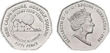 Gibraltar 2018 - 50p Calpe House Coin