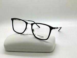 Calvin Klein CK 19717F 001 BLACK Eyeglasses Frames 55-20-150MM /CASE