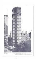 NY New York City Antique Post Card St Paul Building IPPC Card