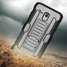 Armor Rubber Hybrid Belt Clip Case Cover For Alcatel One Touch Flint/Fierce XL