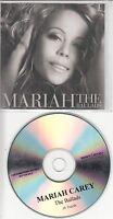 MARIAH CAREY The Ballads 2008 UK 18-track promo test CD