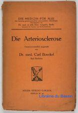 Die Arteriosclerose Dr. med. Carl Boeckel