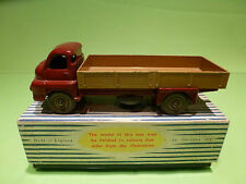 DINKY TOYS 922 BIG BEDFORD LORRY - MAROON + FAWN - NEAR MINT IN BOX