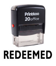 Printtoo Redeemed Self Encrage Rubber Stamp Office Personnalisé Timbre