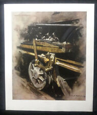 STUDY FOR OIL, MUCK AND SUNLIGHT by David Shepherd, LARGE VERSION PRINT
