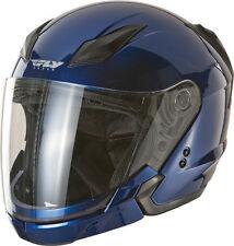 FLY Street TOURIST Helmet Metallic BLUE SMALL Motorcycle 73-8103M