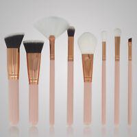 8pcs Cosmetic Makeup Brush Blusher Foundation Eye Shadow Face Powder Brushes Set