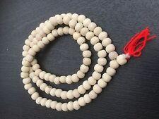TULSI TULASI PREMIUM JAPA MALA ROSARY 108 + 1 BEAD HINDU YOGA MEDITATION PRAYER