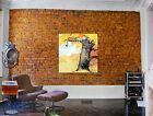 "Calvin and Hobbes Autumn Tree Canvas Print 32"" x 32"""