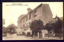 Carte Postale Ancienne 44 - LA BAULE sur MER Allée des Tilleuls OCÉANIC HÔTEL
