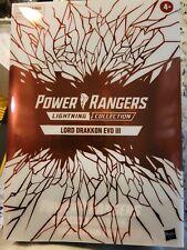 Hasbro Power Rangers Lightning Collection Lord Drakkon EVO III -- NIB