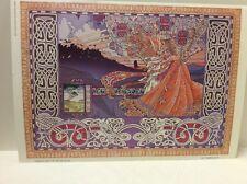 Jim Fitzpatrick Fathach Poet Of Fir Bolg Poster Print Celtic Art Irish Mythology