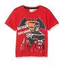 BATMAN vs SUPERMAN 4, 6, 8 ou 10 ans t-shirt manches courtes rouge NEUF