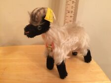 "Vintage Steiff Mountain Sheep/Ram 'Snucki' 1312.00 5"" All Tags 1959-1967"