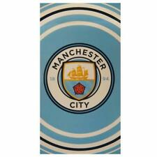 Club Licensed Manchester City Pulse Towel - Kid's Holiday Beach Pool - MCPT