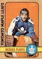 1972-73 O-Pee-Chee Jacques Plante #92