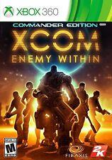XCOM: Enemy Within Commander Edition Xbox 360 Xbox one backward compatible