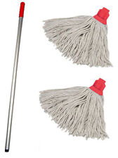 Red - Professional Mop Handle and 2 Mop Heads - DCS - CKMSREX1I