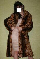 "Fur MINK  coat 40it (6 US) animal print ""tiger"""