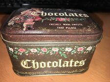 Keller Charles chocolate of philadelphia can Nostalgia Collection Dainty Miss...