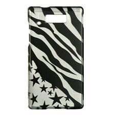 Silver Star Zebra Case Phone Cover for Motorola Triumph