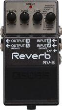 Boss RV-6 Reverb Guitar Effect Pedal brand new!