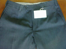 Pantaloni uomo CHANAUD,grigio scuro/antracite*lana*Tg.48 drop 7*REGULAR FIT