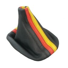 Italian Leather Shift Boot German Flag For Vw Golf Jetta Gti Gli R32 Mk4 Fits Jetta