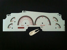 99 00 01 02  LINCOLN NAVIGATOR EXPEDITION FORD F150 99-03 WHITE FACE GAUGES (km)