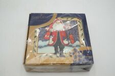 New listing Pimpernel Coasters (6) St Nick Art for the Table England - New in Box