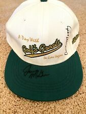 ORVILLE MOODY JERRY McGEE - A Day with Golf Greats in LV - Hat - Signed  (5808)