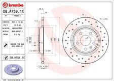 2x Bremsscheibe BREMBO XTRA LINE 08.A759.1X für AUDI A4 A5 Q5 A6 B8 C7 8K2 A7