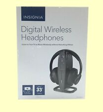 New Insignia NS-HAWHP2 Wireless Over-the-Ear Headphones Free Fast Shipping