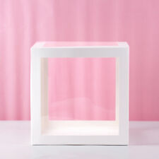 12'' Transparent Plastic Paper Boxes Clear Gift Candy Box Birthday Party Package