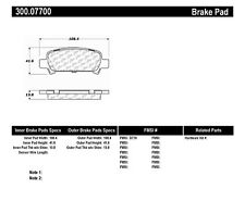 Disc Brake Pad-Premium Semi-Met Pads w/Shim and Hardware fits 00-09 Legacy