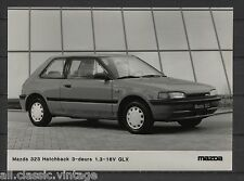 PRESS - FOTO/PHOTO/PICTURE - Mazda 323 Hatchback 3-doors 1.3-16V GLX