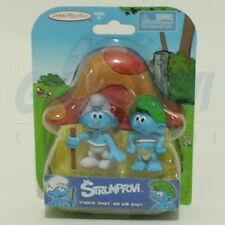 PUFFO PUFFI SMURF SMURFS Jakks Pacific 22188 Tracker Smurf and Wild Smurf
