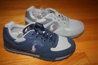 New In Box Polo Sport Ralph Lauren Slaton Tech Pony Suede Sneakers SHIP FREE US