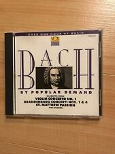 Bach by Popular Demand (CD used v.good)