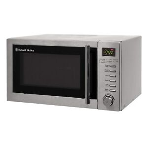 Russell Hobbs RHM2031 20L Digital Combination Microwave Oven - Stainless Steel